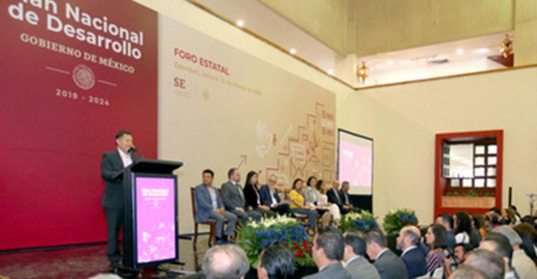 Se realizó en Guadalajara el tercer Foro Estatal de Participación y Consulta para el Plan Nacional de Desarrollo