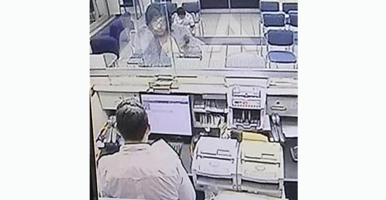 Hombre mudo asalta banco con papelito en Veracruz