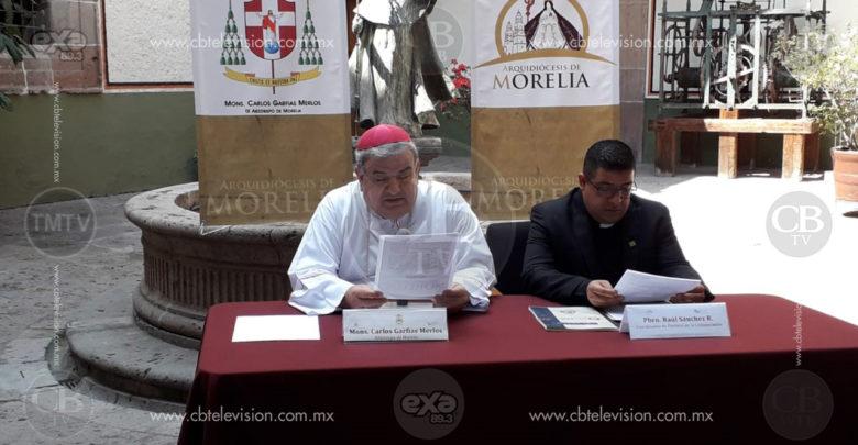 Dispuesta Arquidiócesis de Morelia a participar en PND 2019-2024