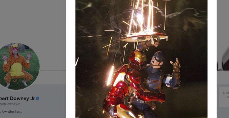 Iron Man envía peculiar mensaje a Capitán América y Marvel es la gran ganadora