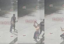Sale a la luz otro video de la chica que apuñaló a joven en motel de Iguala