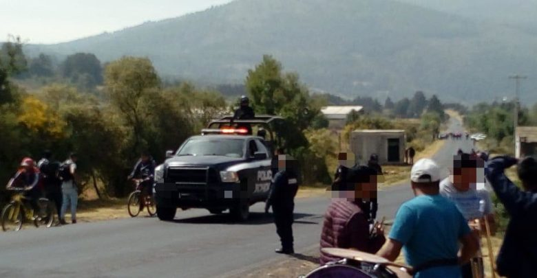 Se mantienen acciones preventivas de la Policía Michoacán en Nahuatzen