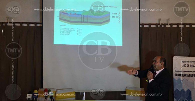 Otro proyecto más para salvar el lago de Pátzcuaro