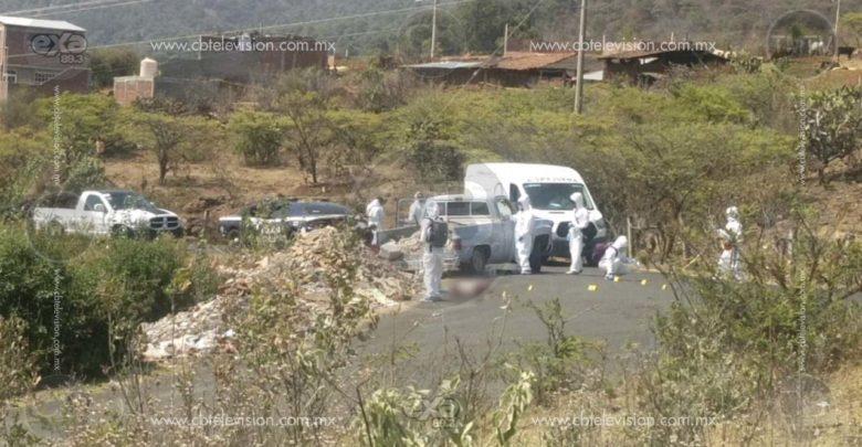 Salió a tirar escombro y terminó asesinado a balazos en Quiroga