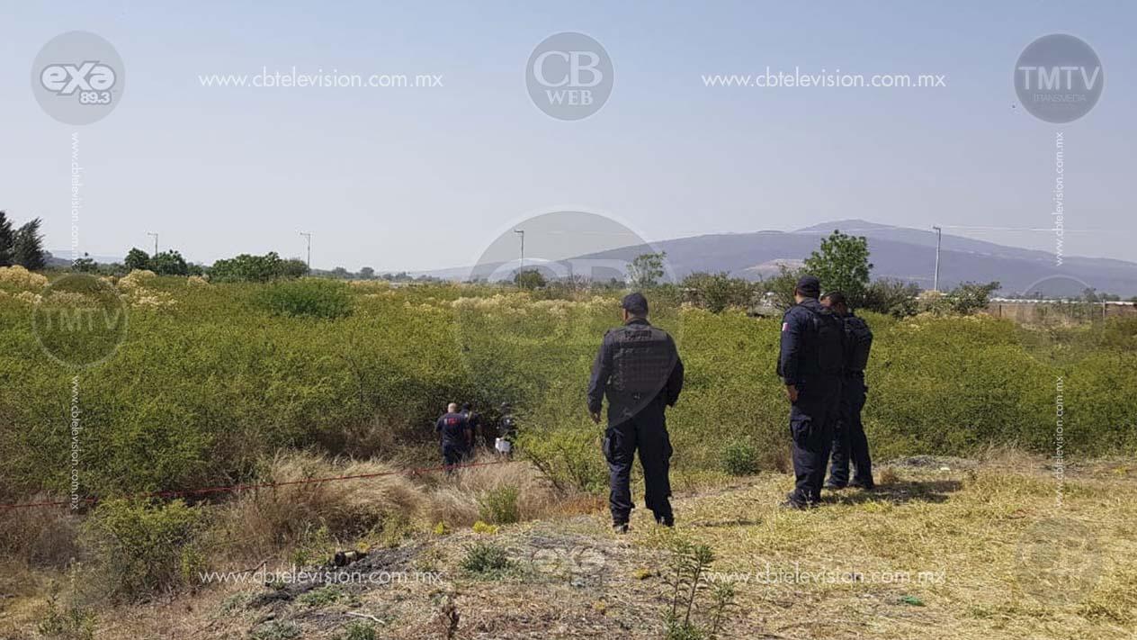 Encuentran cadáver baleado y putrefacto cerca de planta tratadora de agua en Zamora