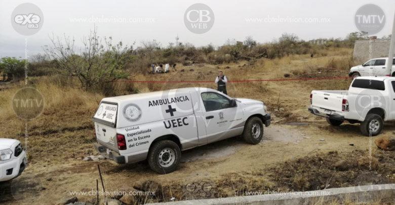 Encuentran cadáver con impacto de bala y varias quemaduras en Morelia