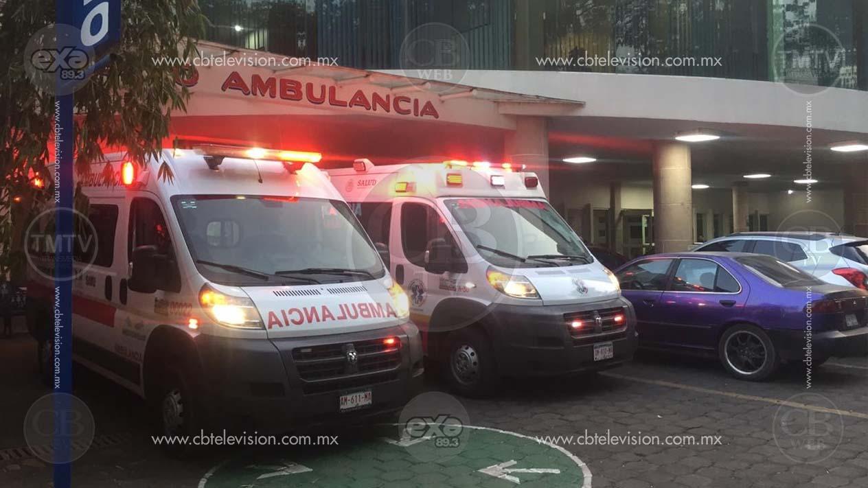 Cinco niños son rescatados de un incendio, estaban encerrados en su casa, uno sufrió graves quemaduras