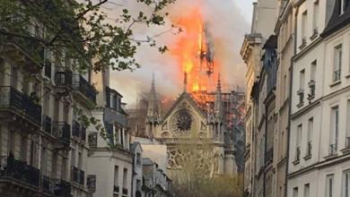 En VIVO: Se registra incendio en la catedral de Notre Dame de París