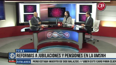 "Photo of CB Noticias el Amanecer 01 de Abril. ""La Mesa de Debate"" Refprmas a Jubilaciones Y Pensiones en la UMSNH Bloque 4-7"