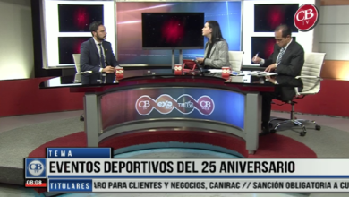 Photo of CB Noticias el Amanecer 01 de Abril. «La Entrevista» Eventos Deportivos del 25 Aniversario 5-7