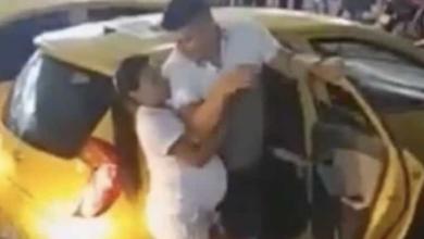 VIDEO: Embarazada encuentra a su novio con otra y el drama se hace viral