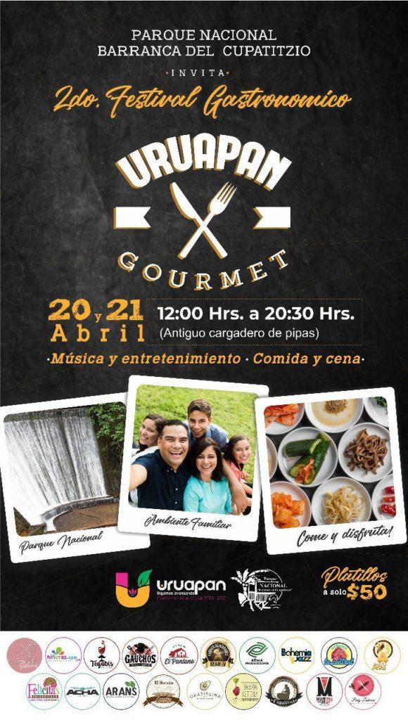 """Anuncian el 2o Festival """"Uruapan Goumet"""" en el Parque Nacional"""