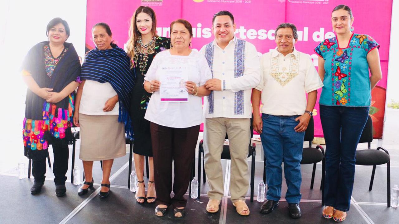 Uruapan está agradecido con los artesanos: Victor Manriquez