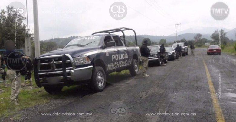 Detienen a cuatro con armas y droga en Venustiano Carranza