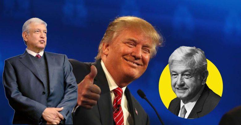 Trump felicita a AMLO: México ha estado magnifico en los últimos días