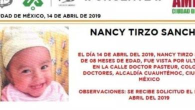 Localizan en Neza a bebé robada afuera del Hospital General de la CDMX
