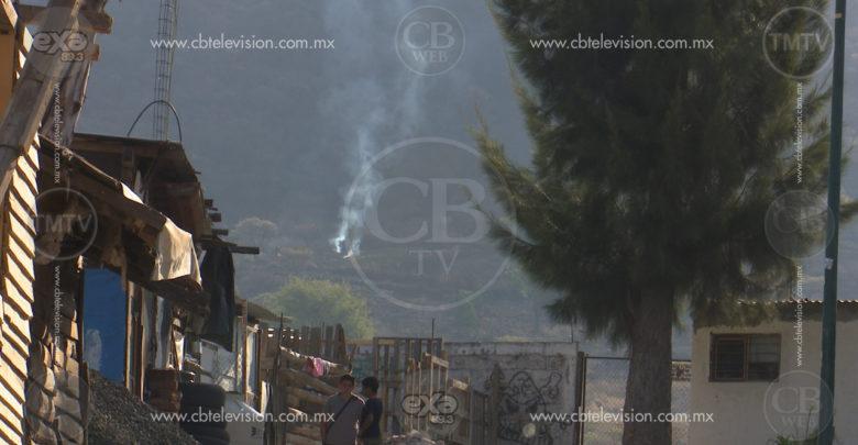 Vecinos del Cerro de Punhuato, denuncian falta de atención ante incendios forestales