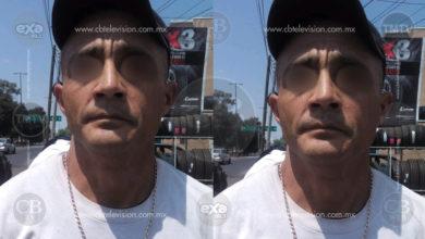 Civiles capturan a albañil ladrón de llantas en Morelia