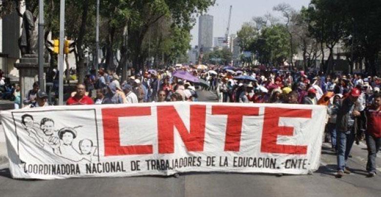 Prepara CNTE marcha en CDMX contra reforma educativa