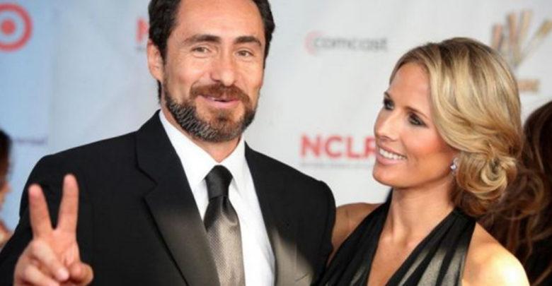 El actor mexicano Demián Bichir confirma la muerte de su esposa