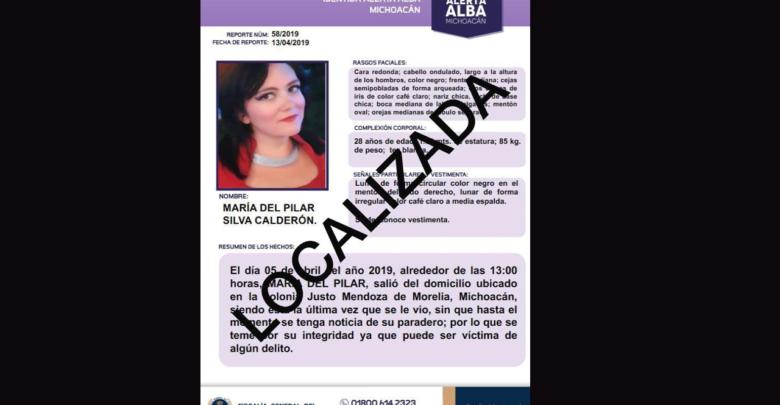 Localiza FGE a joven reportada desaparecida en Morelia