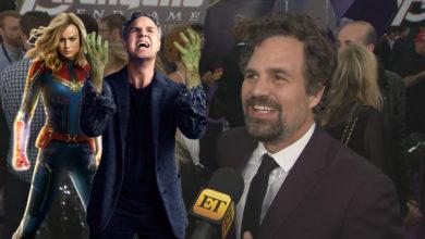 """Mark Ruffalo se acaba de enterar que """"Capitana Marvel"""" actuó en """"Si Yo Tuviera 30"""""""