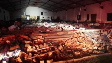 Mueren 13 personas tras colapsar una iglesia