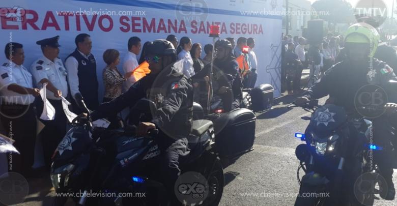Inicia operativo Semana Santa Segura Zitácuaro 2019
