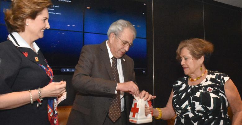 Inicia la colecta anual 2019 de la Cruz Roja Mexicana en la Secretaría de Salud