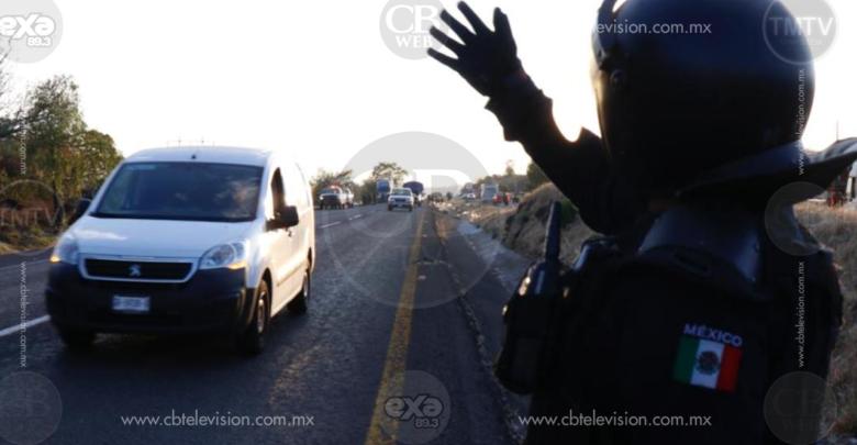 Fuerzas Federales aseguran a 30 inmigrantes centroamericanos en Michoacán