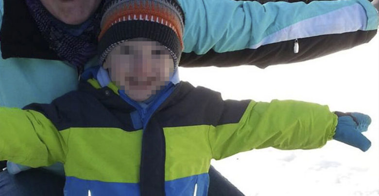 Niño de cinco años escapa de ser asesinado por su padre