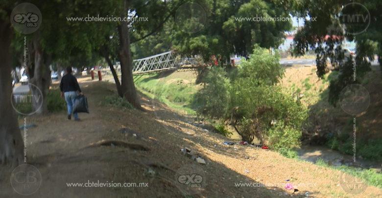Río Chiquito, deposito de basura de algunos morelianos