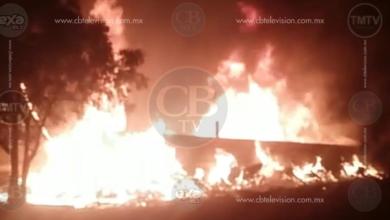 Arde taller de madera en San Nicolás Obispo