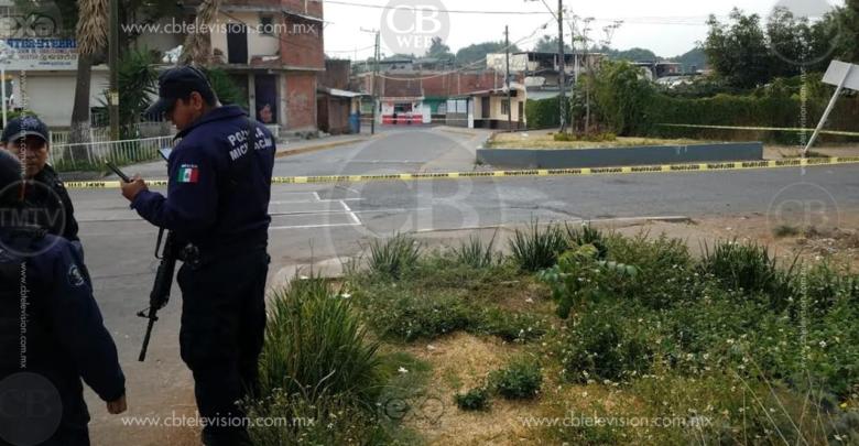 Oficial de la Policía Michoacán es asesinado a tiros