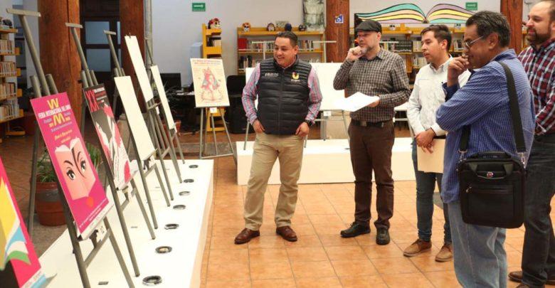 Eligen cartel de la XX Feria Internacional del Libro de Uruapan