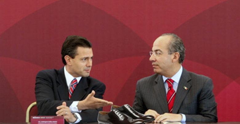 Comparan calzado de Obrador con el de Peña y Calderón, los precios causan indignación