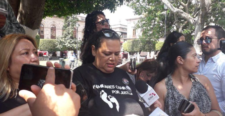 Familiares Caminando por Justicia sin apoyo de autoridades