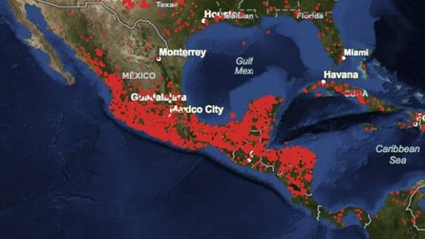 El país está en llamas, incendios en México son captados por satélites de la NASA