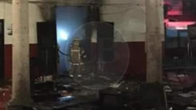 Arde la Oficialía Mayor del Ayuntamiento de Paracho