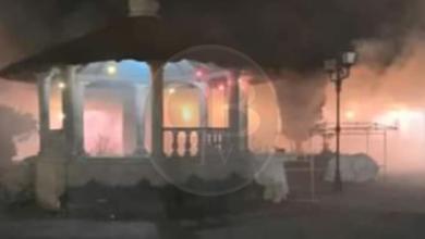 Incendio en alcaldía de Paracho, fue provocado: Presidente Municipal