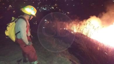 Desconocidos incendian con antorchas el Cerro de Jicalán