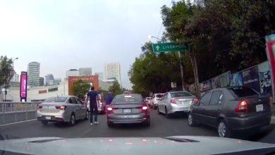 Video: En 20 segundos perpetran asalto a automovilista