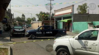 Hombre es asesinado en intento de asalto en Morelia