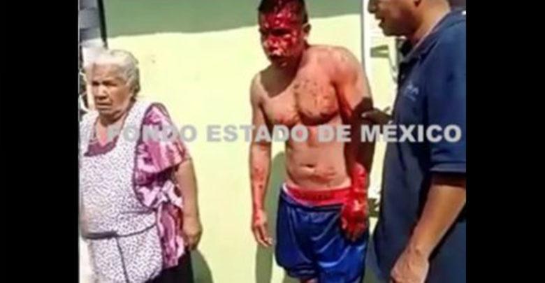 Papá y mamá llegan al rescate de su hijo ladrón que iba a ser linchado