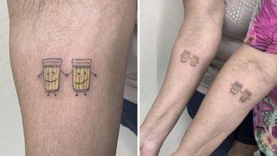Photo of Abuelitas se tatúan unas cervezas para celebrar su amistad