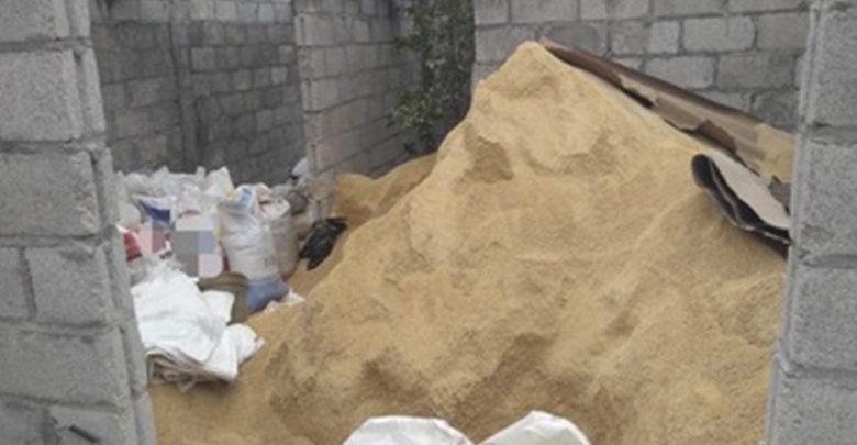 Luego de cateo recuperan más de 10 toneladas de alimento para aves
