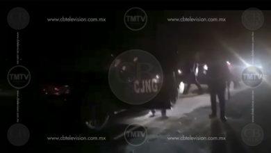 Video: Al rededor de 300 sicarios del CJNG se graban antes de atacar a policías en Zamora