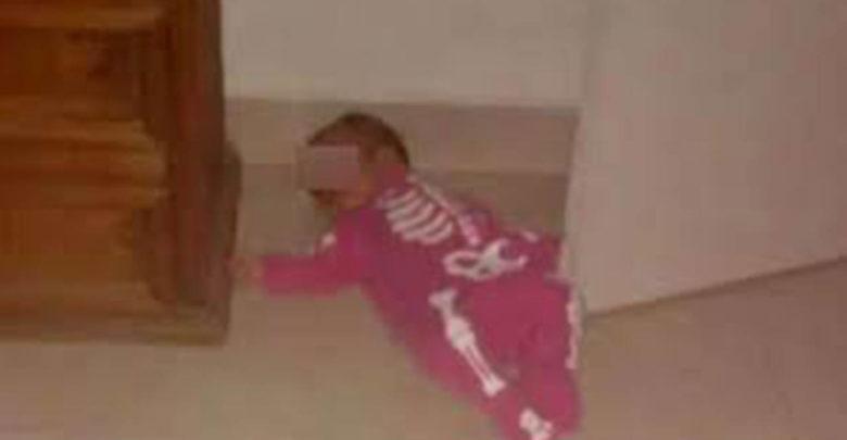 Mujer golpeaba y grababa a bebé para extorsionar a su padre