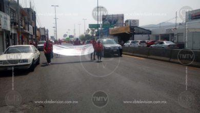 Ciudadanos molestos por manifestaciones en Morelia