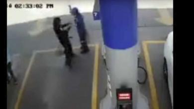 VIDEO: Mata a empleado de gasolinera para robarle la cuenta del día